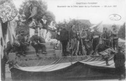 Un char en 1907