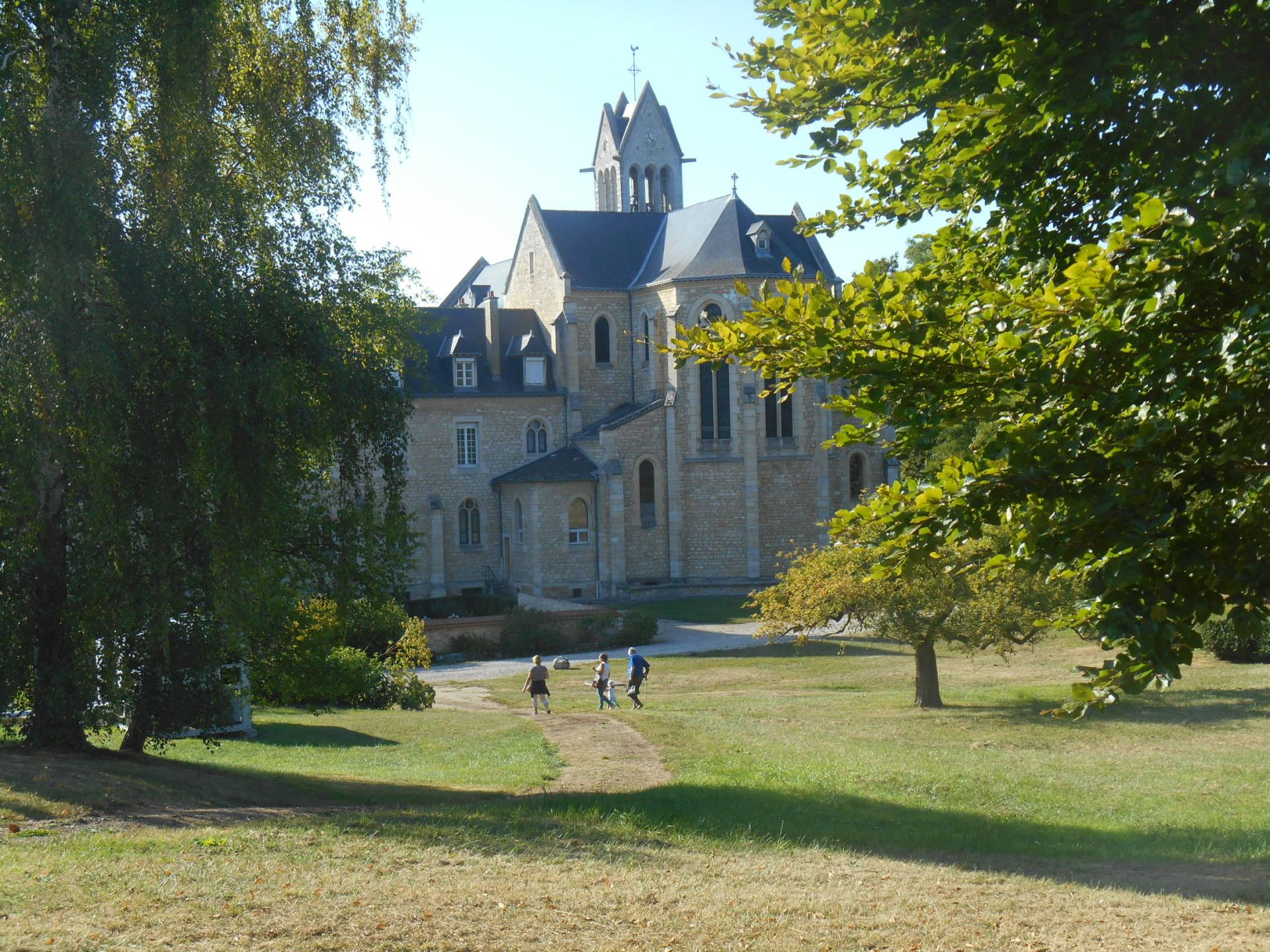 L'abbaye du Val d'Igny
