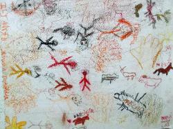 L art prehistorique vu par les ce2