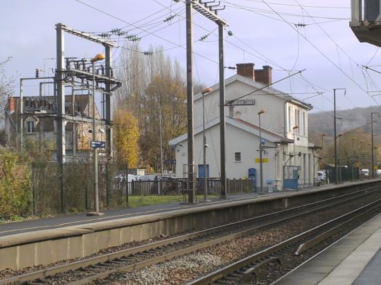 La gare de Nogent