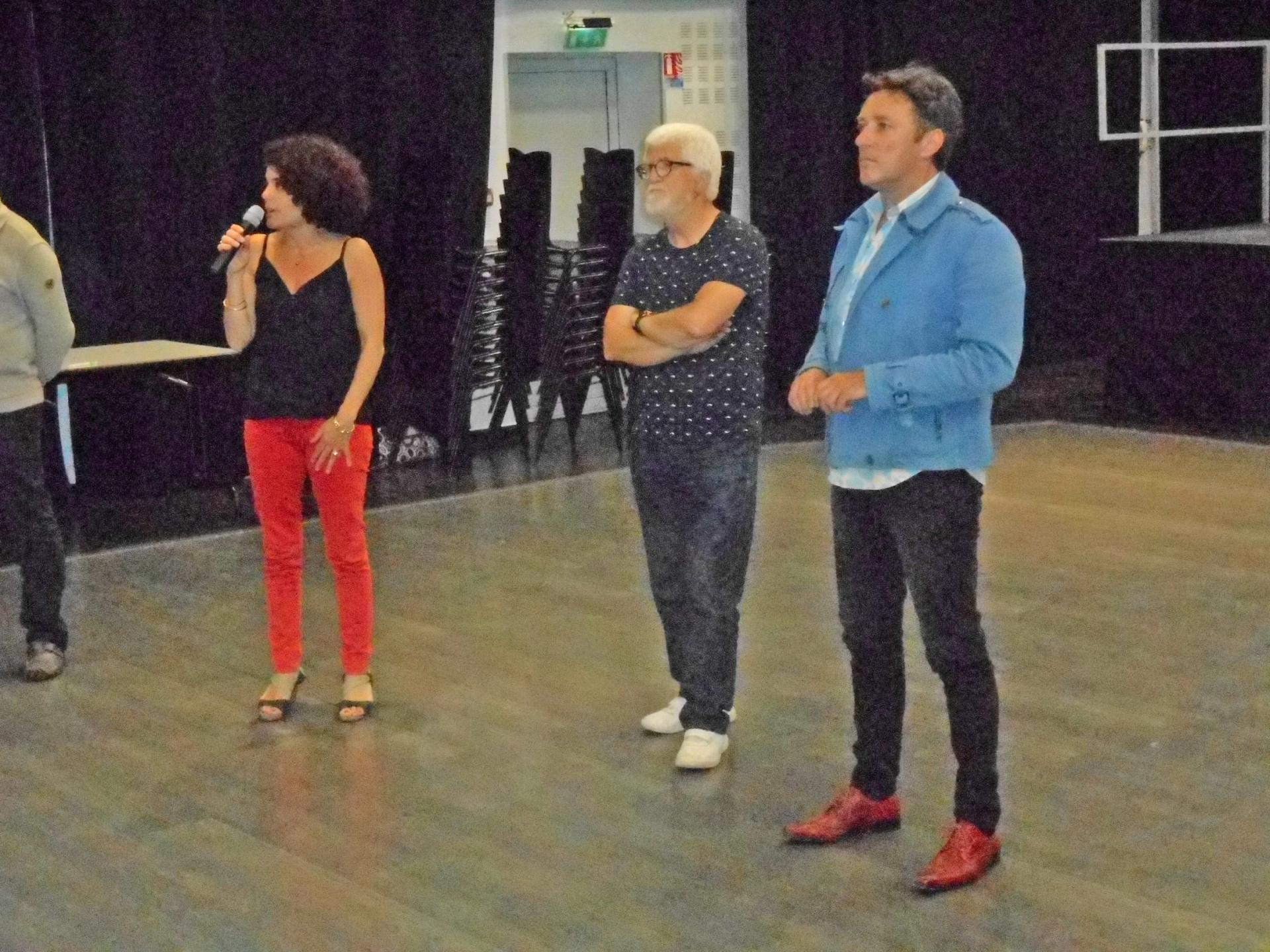 Marie Blanche, Costa Macros et Alain Chapuis