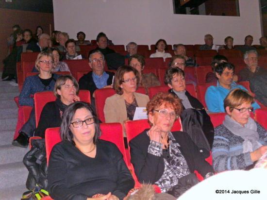 Une partie du public