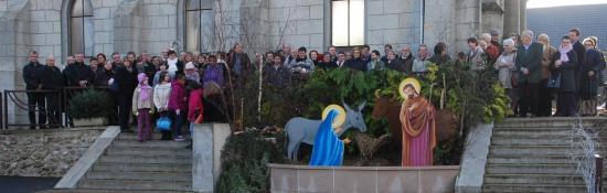 Visite pastorale de Mgr Hervé Giraud